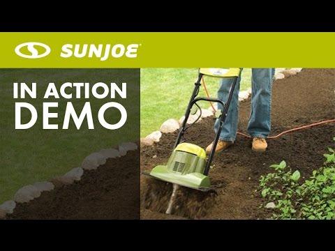 TJ600E - Sun Joe Tiller Joe 6.5 AMP Electric Garden Tiller ...