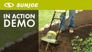TJ600E - Sun Joe Tiller Joe 6.5 AMP Electric Garden Tiller/Cultivator - Live Demo