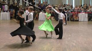 Ча ча ча танец Дети 1, 6 т, Открытый класс «Золотая осень-2017»