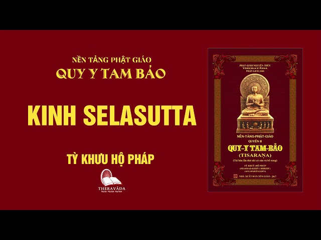 13. Kinh Selasutta - Tỳ Khưu Hộ Pháp - QUY Y TAM BẢO