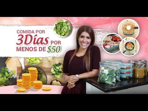 Preparación de 3 comidas para perder peso-(vegano o proteíco)