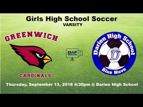 Darien Varsity Girls Soccer vs. Greenwich
