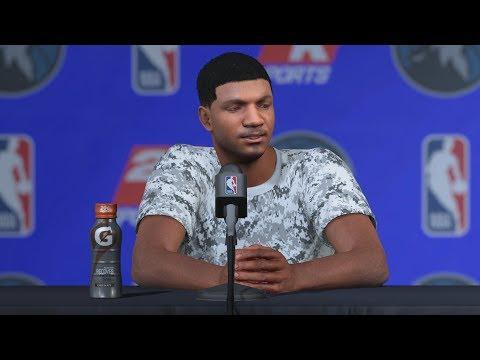 NBA 2K18 My Career - LaVar Ball Text! 1st Game Starter! PS4 Pro 4K Gameplay