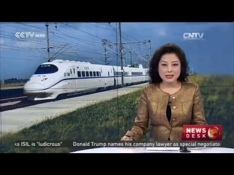 Shanghai-Kunming line section starts operation