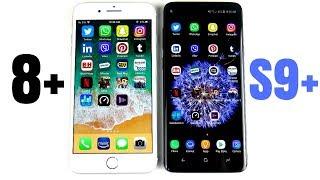iPhone 8 Plus vs Galaxy S9 Plus Speed Test!