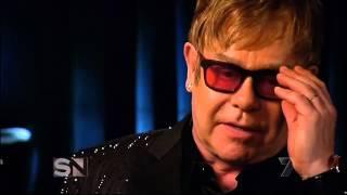 Elton John opens up to Molly Meldrum