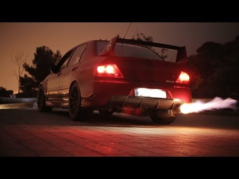 Mitsubishi Lancer Evolution IX - Robert's car in detail