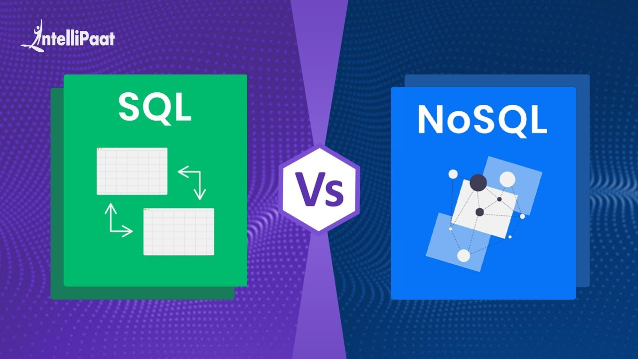 SQL vs NoSQL | Difference Between SQL and NoSQL | Intellipaat