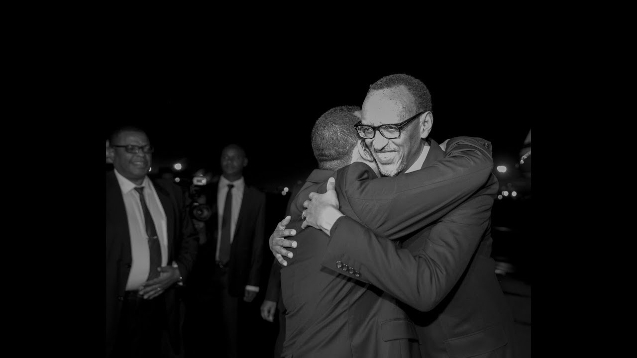 President Kagame arrives in Ethiopia and received by Dr. Abiy Ahmed