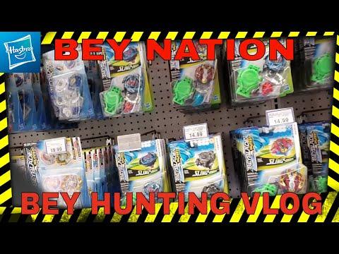 BEYBLADE HUNTING, WE GOT *NEW* HASBRO WAVE 4 BEYS!! || Beyblade Burst