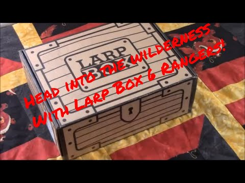 Head into the Wilderness with Larp Box 6 Rangers