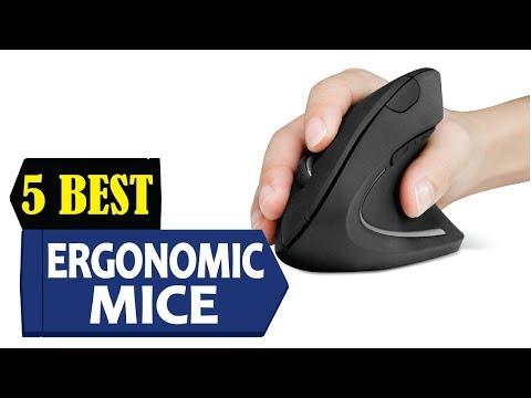 5 Best Ergonomic Mice 2018 | Best Ergonomic Mice Reviews | Top 5 Ergonomic Mice