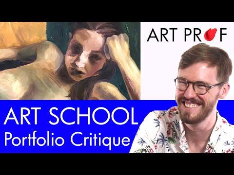 Art Critique: Art School Admissions Portfolio / ART PROF