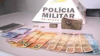 Polícia Militar De Minas Prende 3 Homens De Tapiratiba-SP Com Drogas