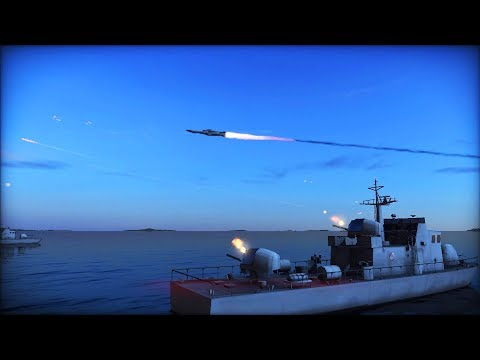 BREAKING: US NAVY FLEET LAUNCHES MISSILES AT RUSSIAN SHIPS | Wargame: Red Dragon Gameplay