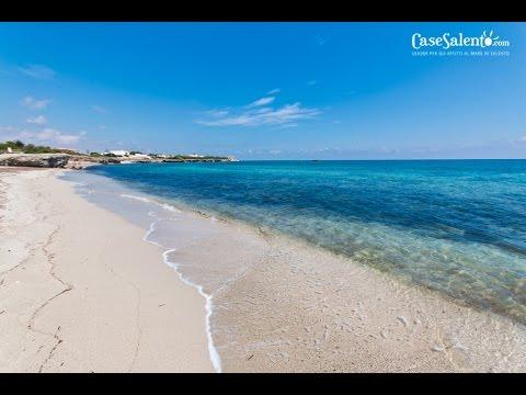 Spiaggia e costa di torre specchia ruggieri drone e subbacqueo youtube - Torre specchia spiaggia ...