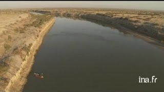 Kazakhstan : delta du Syr Darya dans la Mer d'Aral