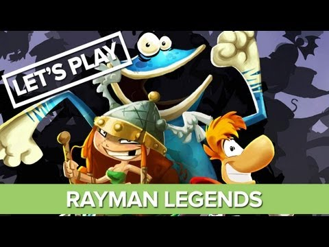 Let's Play Rayman Legends - Xbox 360 Gameplay