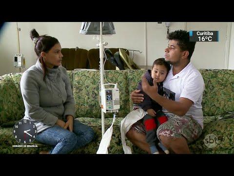 Família luta para conseguir tratamento no exterior para o filho doente | SBT Notícias (03/09/18)