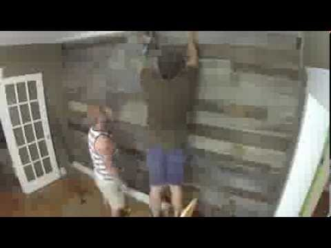 TWF Reclaimed Barnwood Wall  Ceiling Accents  YouTube