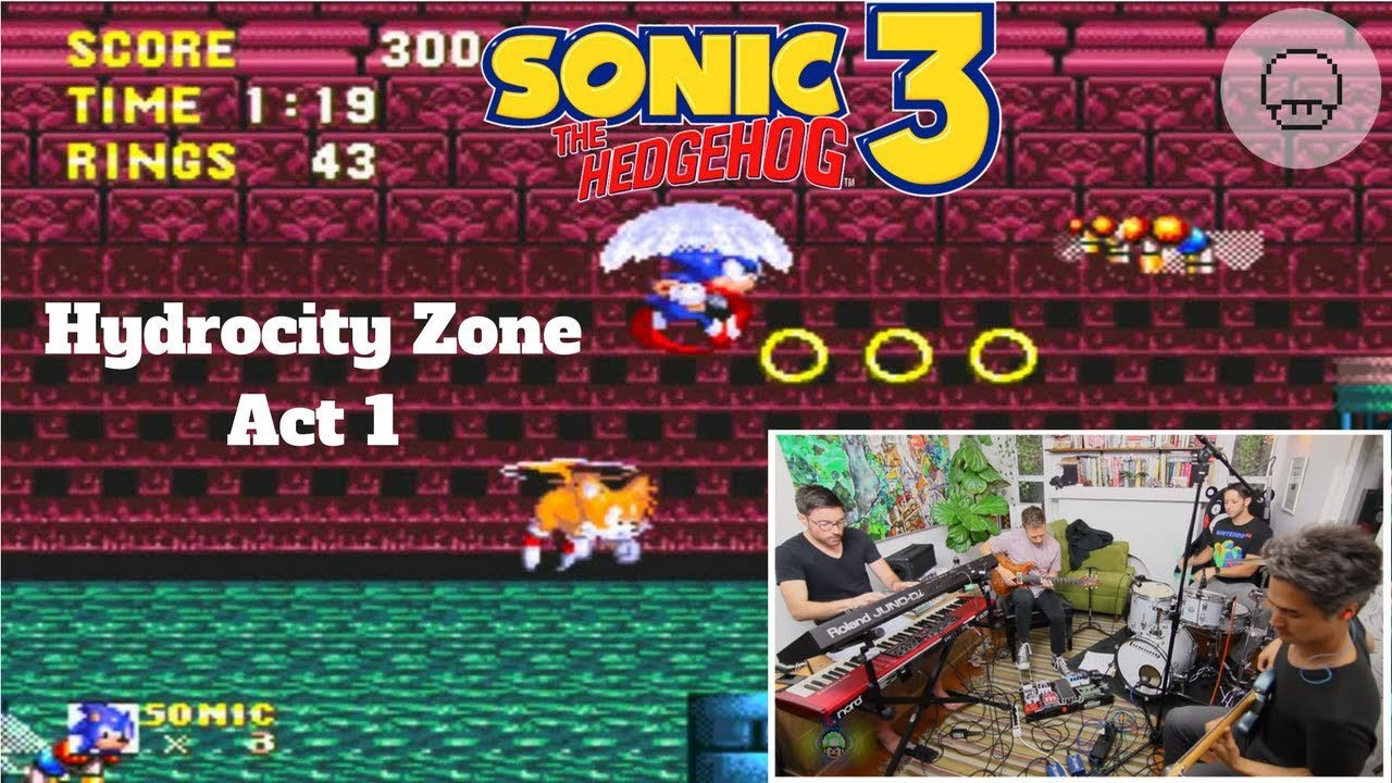 Sonic the Hedgehog 3 - Hydrocity Zone Act 1 | EXTRA LIVES - Sonic