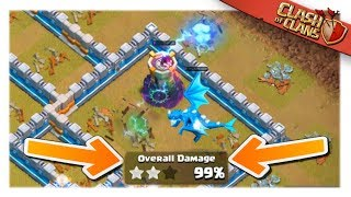 The CLOSEST 3 Star ATTACK you will EVER see in Clash of Clans | Live CWL Attack and Champion 1