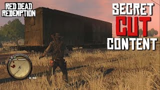 Red Dead Redemption CUT CONTENT - The Amazing SECRET Removed Gameplay Features, Missions & More!