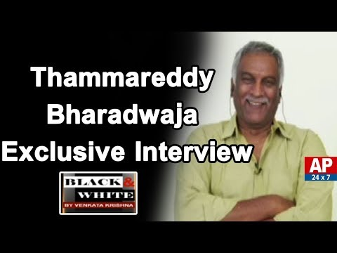 Producer Thammareddy Bharadwaja Exclusive Interview | Black & White With VK | AP24x7
