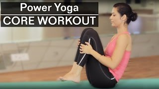 15 Minute Intense CORE POWER YOGA WORKOUT