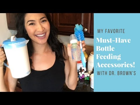 My Must-Have Essentials for Bottle Feeding Products and Accessories | Dr. Brown's