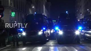 France: Police fire tear gas to break up Lyon demonstrations