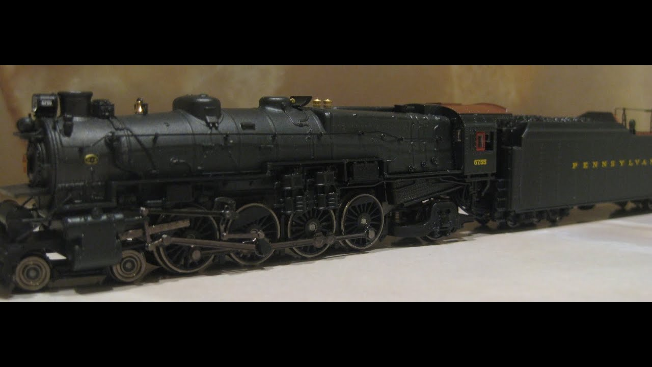 Scale steam locomotives for sale n scale steam locomotives - Tophobbytrains Broadway Limited N Scale Prr 4 8 2 M1a M1b Steam Loco W Factory Dcc Sound Youtube