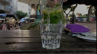 음료 따르기 #소주