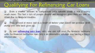 Refinance A Car Loan With No Credit Check