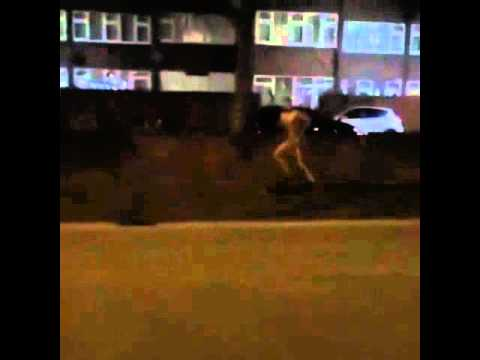 Nines strips his worker on church road