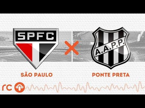 AO VIVO - São Paulo x Ponte Preta - 01/03/2020 - Campeonato Paulista - Futebol RC