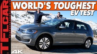 VW eGolf Takes On The World's Toughest Electric Car Test - Loveland Trials Ep.1