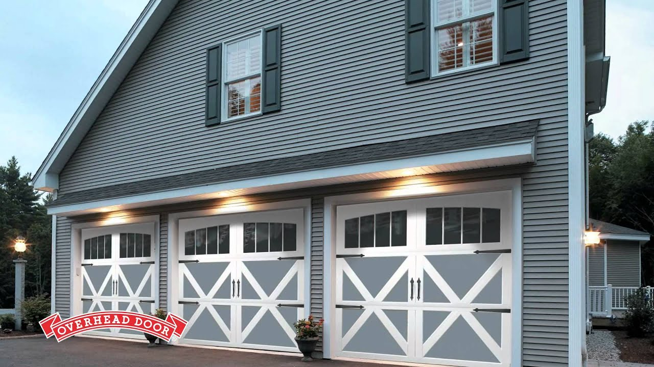 Garage Door Styles  Tips for choosing the best style for your home  YouTube