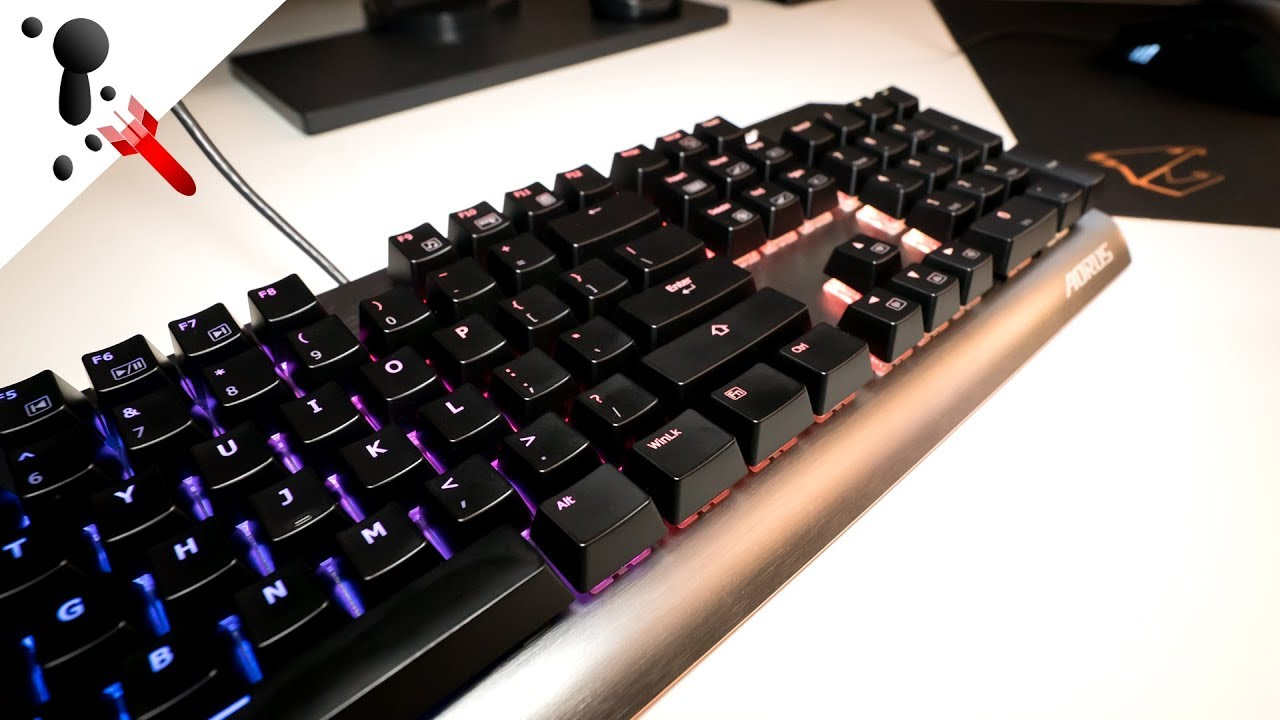 Gigabyte Aorus K7 Review (RGB Keyboard with Cherry MX Red)