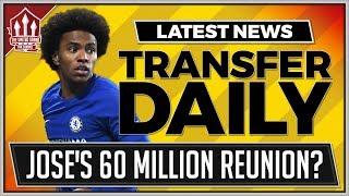 MOURINHO's WILLIAN Reunion? Manchester United Transfer News