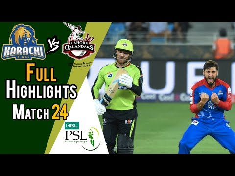Full Highlights | Lahore Qalandars Vs Karachi Kings  | Match 24 | 11 March | HBL PSL 2018 thumbnail