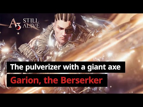 Berserker | Character Introduction Video | A3: STILL ALIVE