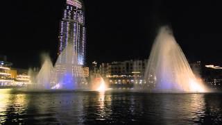 Musical Fountain at Dubai Mall
