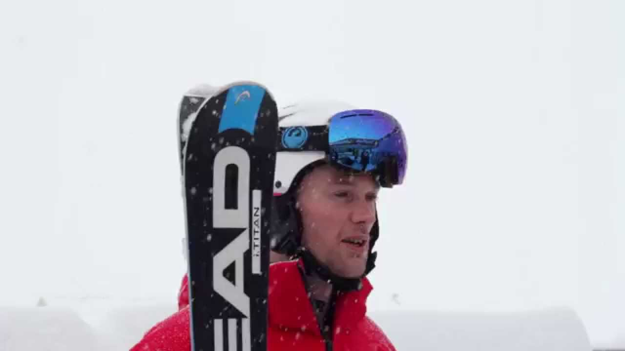 Head Supershape Titan 2015 Ski Review By Adam At Edge & Wax - YouTube