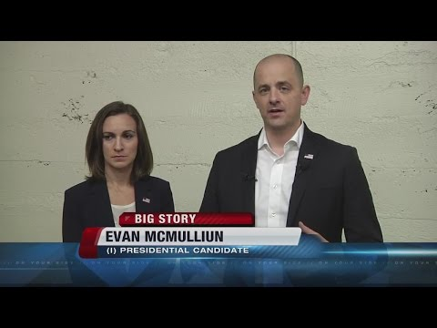 Evan McMullin holds rally in Boise