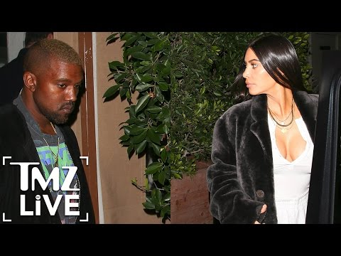 KIM KARDASHIAN & KANYE WEST Are On A Mission (TMZ Live)