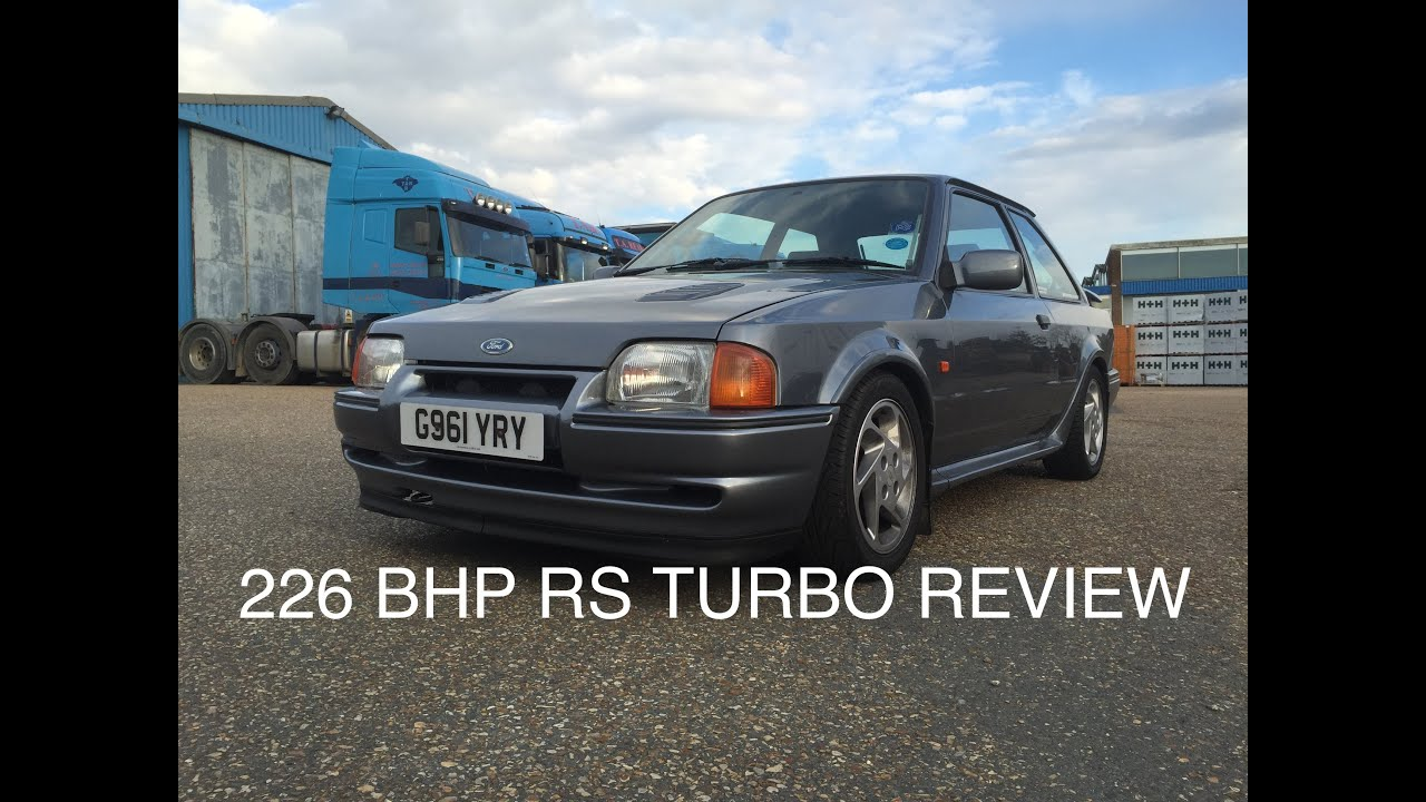 Owning A 226 BHP Escort RS Turbo Modified Car Review  SCREAMER
