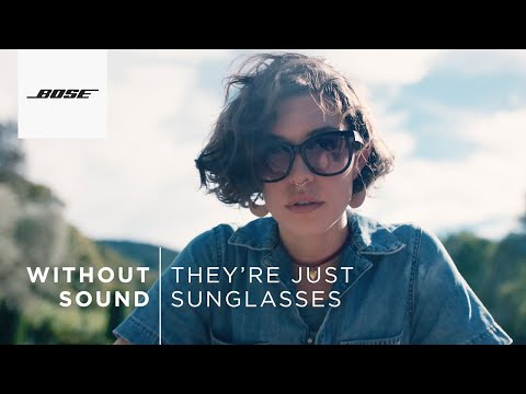 Bose Frames Tenor & Soprano Audio Sunglasses | Without sound, they're just sunglasses.