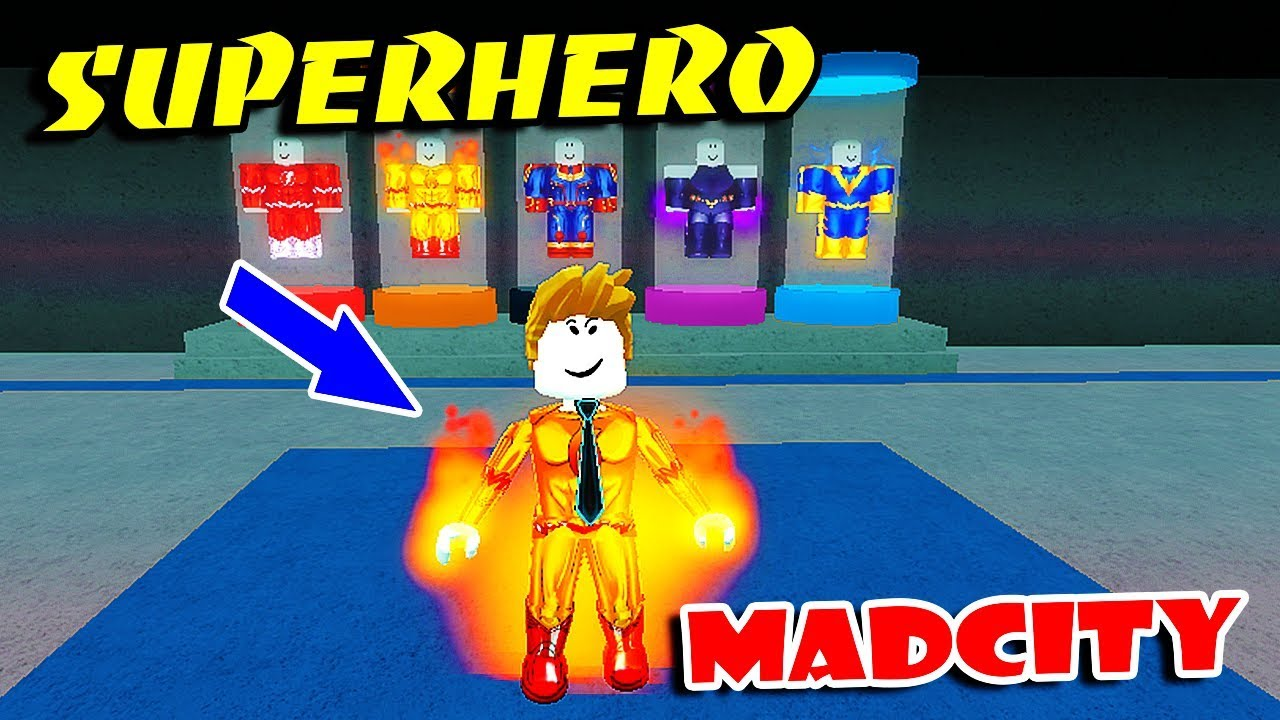 Becoming A Superhero In Roblox - Become A Superhero In Mad City The Best Hero Roblox