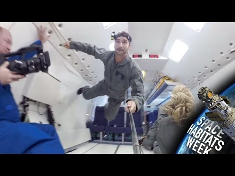 What It Feels Like to Fly in NASA's Crazy Zero-Gravity Plane